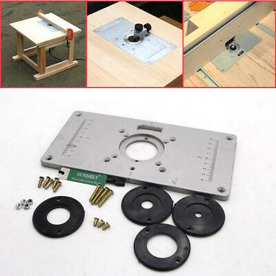Aluminum router table insert plate 235 x 120 x 8mm with ring for hi q aluminium router table insert plate 235 x 120 x 8mm for woodworking bench keyboard keysfo Image collections