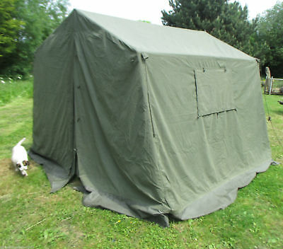 BRITISH ARMY 9X9 Land Rover Canvas Frame Command Tent Event