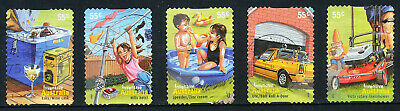 Australian 2009 Inventive Australia, set of 5 S/A stamps, used