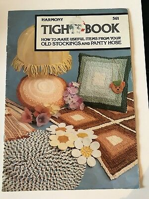 Harmony Tights-Book - How to Make Useful Items From Your Old Stockings