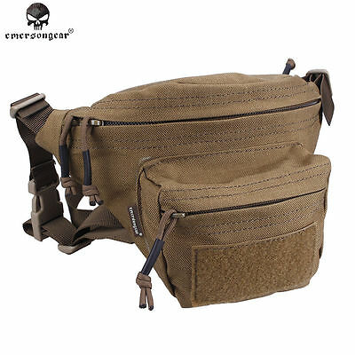 Emerson Fanny Pack Waist Pack Molle Waist Bag Tactical Military Airsoft Army