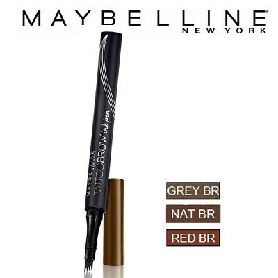 [MAYBELLINE NEW YORK] Tattoo Brow Ink Pen Eyebrow Tattoo Liner 0.5ml NEW