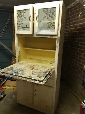 50's 60's Kitchen Larder Cupboard.  Vintage Retro suit Beach Hut for restoration