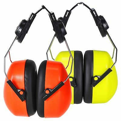 PORTWEST Endurance Hi Vis Ear Protector Noise Protection Muffs 29dB PS47