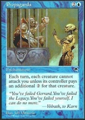 1x PROPAGANDA - Rare - Tempest - MTG - Magic the Gathering