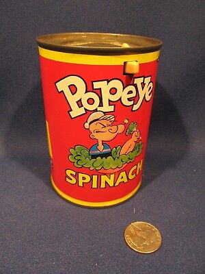 Mattel Inc. Popeye Spinach Can Pop Up Toy 1950's