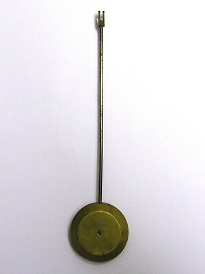 Antique-Victorian-Long Case Clock Brass Pendulum-18 cm-3.6 oZ-circa 1860's