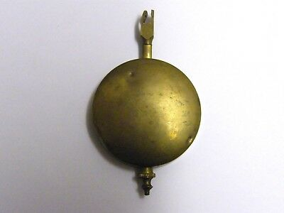 Antique-Victorian-Mantle Clock Brass Pendulum-1890's