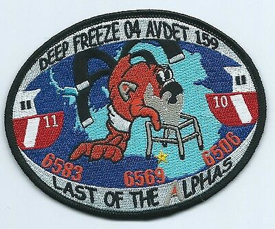 USCG United States Coast Guard Patch Deep freeze 04 Avdet 159 3-5/8X4-1/2