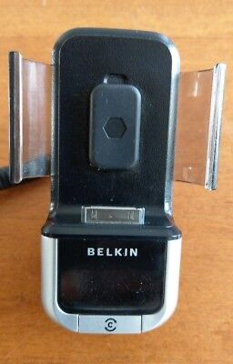 OEM Belkin Tunebase FM Transmitter F8Z176 For iPod Touch Black by Belkin