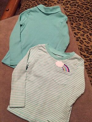 Girls Pull Over Tops ~ Size 2T ~Two For One Price
