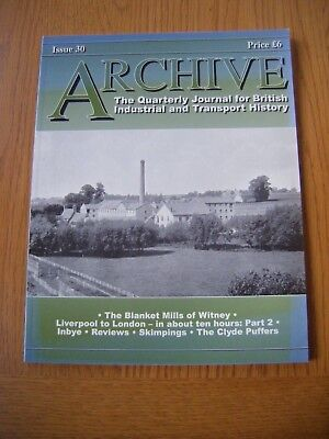 'Archive' Transport Magazine, Issue 30, good condition, June 2001