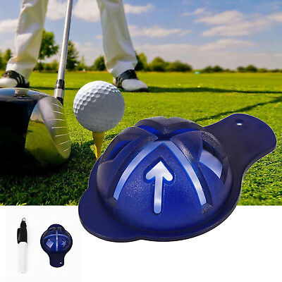 Golf Scribe Ball Markers Template Alignment ball line marker Pen Line Marker