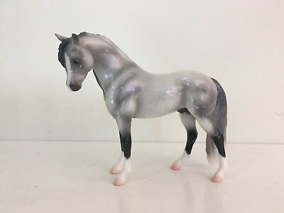 Breyer Limited Edition Icicle Glossy Dapple Grey Bouncer - Great Condition!