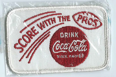 Score with the Pros drink Coca Cola driver patch 2-1/2 X 4 #493