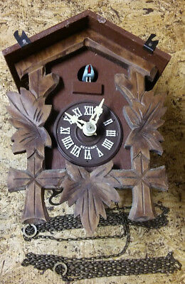 Vintage Cuckoo clock black forest Germany