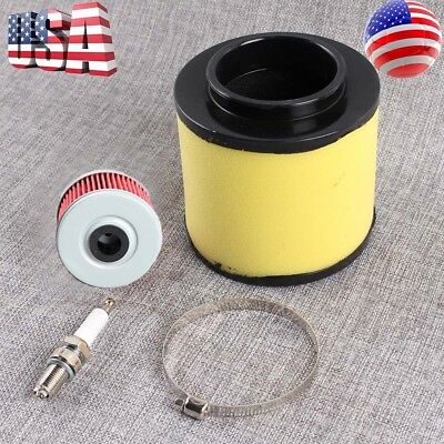 Air Filter Tune Up Kit For Honda 17254-HM8-000 Recon 250 TRX250EX 250X Sportrax