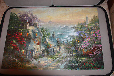 Thomas KinkadePainter Of Light The Village Lighthouse 1000 Piece Jigsaw