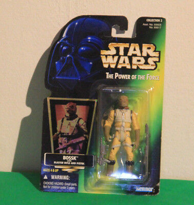 Star Wars Figur Bossk/ The Power of the Force