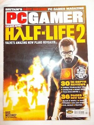PC  GAMER  MAGAZINE  ISSUE 135   May 2004 plus DVD