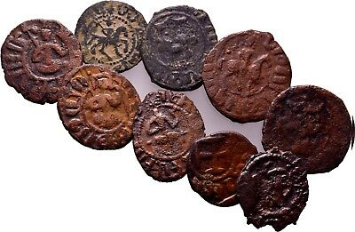 Cilician Armenia. Lot of 9  very quality coins ! Dont Miss!