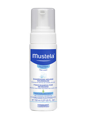 Mustela Foam Shampoo for Newborn 150ml (For  Cradle Cap Relief)