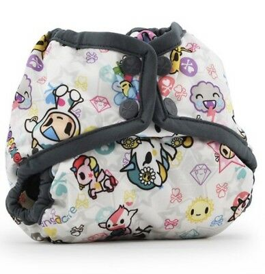 Brand New Newborn Tokidoki Cloth Diaper Cover Kanga Care Rumparooz - Castle