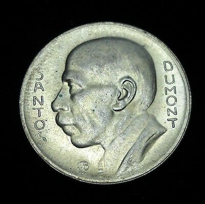 +++ Brazil 1936 5000 Reis.  World - Foreign Silver Coin. FREE Shipping!