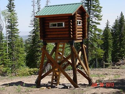 Tiny LOG CABIN 8 x 6 shell kit logs and fasteners only. Free shipping.