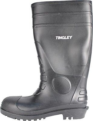 TINGLEY RUBBER Work Boots Black PVC 15-In. Mens Size 14