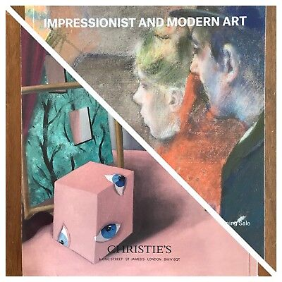 Impressionist and Modern Art / Art of Surreal CHRISTIE'S Auction Catalog UK 2018