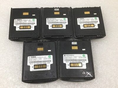 Motorola Zebra Battery 82-111094-01 MC55 MC55A0 MC65 MC67 Series - Lot of (5)