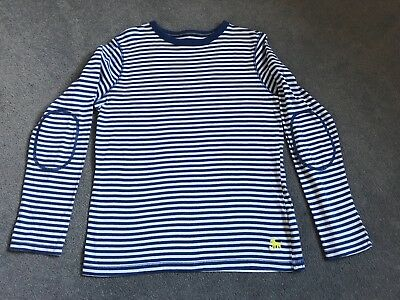 Boy'S Striped Mini Boden Long Sleeved Top In Age 11-12 Years