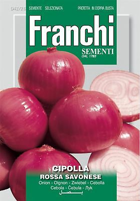 Franchi Seeds of Italy - DBO 42/26 - Onion - Rossa Savonese - Seeds