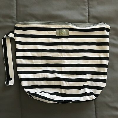 Grovia June And January Onyx Stripe Wet Bag Used