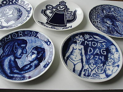 Scandinavian Mother's Day Wall Plates