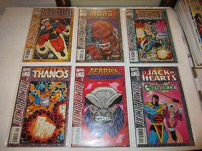 Cosmic Powers #s 1 2 3 4 5 & 6, Complete Series Run, VF/NM Lot, Hot Set