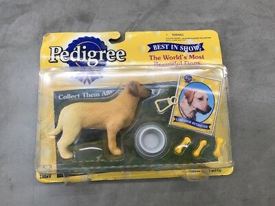 Vintage Pedigree Most Beautiful Dogs Best In Show Collectible Dog Toy Figure