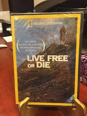 LIVE FREE OR DIE SEASON ONE (DVD, 2015, 2-Disc Set) NATIONAL GEOGRAPHIC/Mfg.Seal