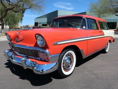 1956 Chevrolet Bel Air/150/210 Bel Air Nomad Wagon Fully Restored Frame Off Custom Show Winner Bel Air Nomad Wagon 1955 1957