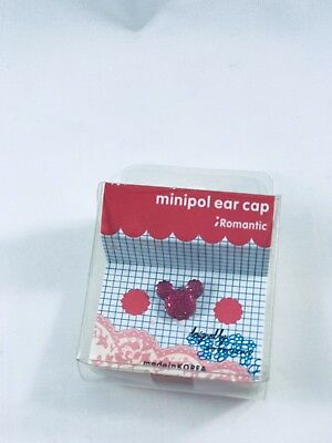 Cute Red Mickey  Port Dust Cover plug Cleaner Earcap Decoration Mobile Accessory