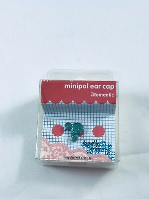 Cute Green Mickey  Port Dust Cover plug Cleaner Earcap DecorationMobileAccessory
