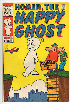 Homer The Happy Ghost #4 VF / 8.0 Off-White Pages