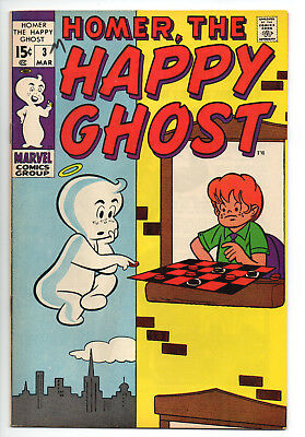 Homer The Happy Ghost #3 VF / 8.0 Off-White Pages