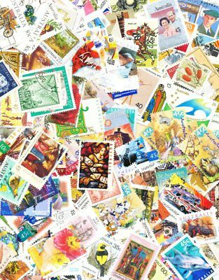 Australia 400 All Different Used Stamps