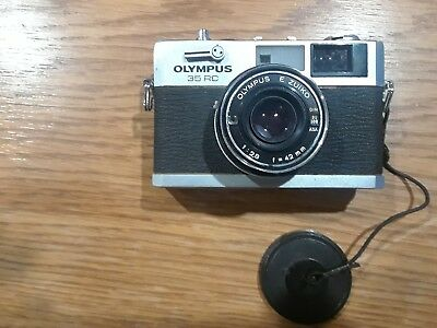 Olympus 35RC Rangefinder Camera with Zuiko 42mm f2.8 Lens
