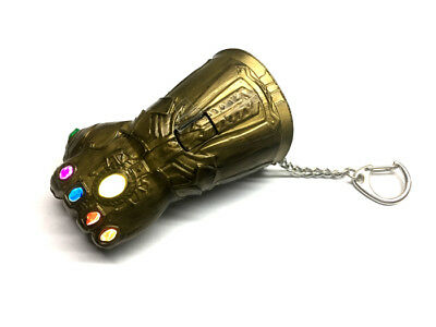 CAMINO Marvel Avengers Infinity War Infinity Gauntlet Key Chain With Light Up