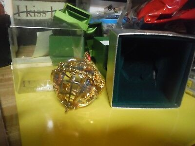 RARE!!  Lunt Silversmiths Peace On Earth Ornament CH-565