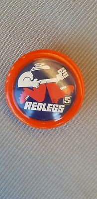 Norwood SANFL Redlegs yoyo..Very RARE item 1970s-1980s.collectable
