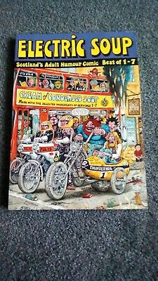 Electric Soup - Best of 1-7, Scotland's adult comic, great condition